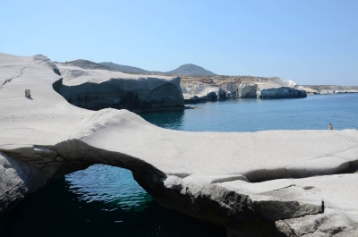 The route of the pirates: Sarakiniko